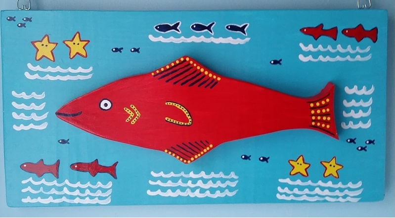 Red Fish In The Ocean By MEO